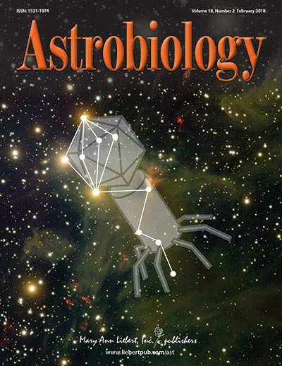 Astrobiology cover