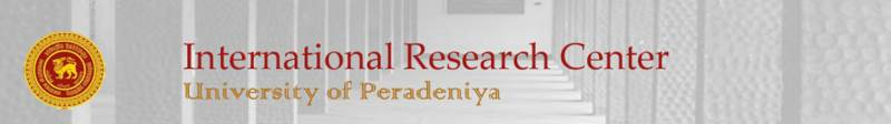 International Research Center, University of Peradeniya