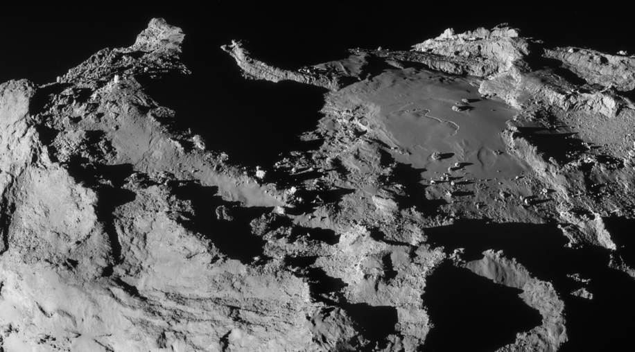 Comet 67P from 19.9 km